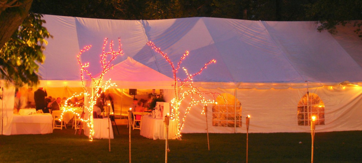Wedding Tent with  Windows