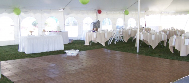 Dance Floor Rental, Sandusky OH